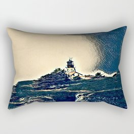 A Light In The Tempest Rectangular Pillow