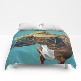 Sassy Dog Pet Portrait Comforters