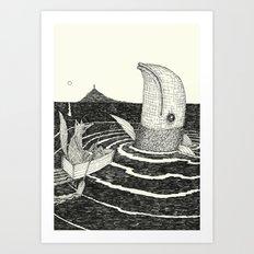 'Follow Me' Art Print