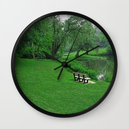 Drowsy Daze Wall Clock