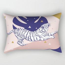 Tiger and the Sun II. Rectangular Pillow