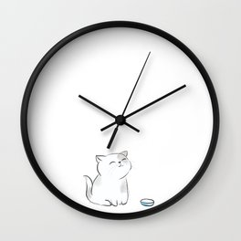 Feed me, Human. Wall Clock