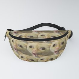 Coughing Cat Meme Pattern Fanny Pack