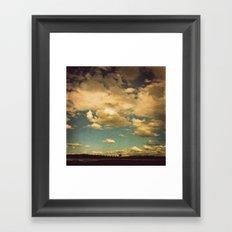 Ever-changing Framed Art Print