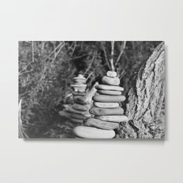 Rocktower Metal Print