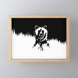 Bear Spirit Framed Mini Art Print