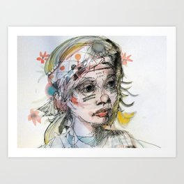 scrapse Art Print