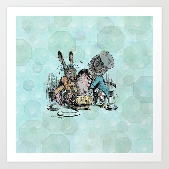 Tea Party (the real one) Art Print