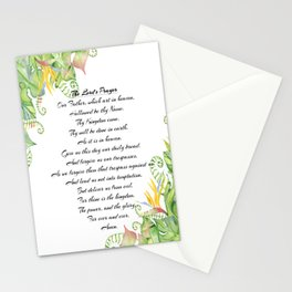 The Lords Prayer Stationery Cards
