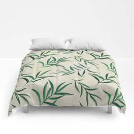 Watercolor seamless pattern on vintage paper. Comforters