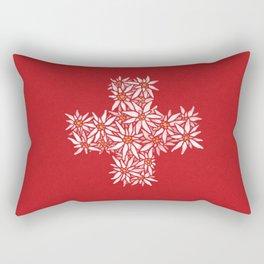 Swiss Edelweiss Rectangular Pillow