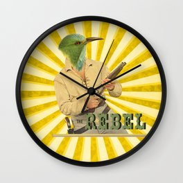 The Rebel Bird Wall Clock