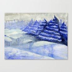Fictional Landscape II Canvas Print