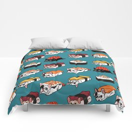 Sushi Frenchie Comforters