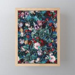 NIGHT FOREST X Framed Mini Art Print