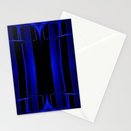 Playing in Blue Stationery Cards