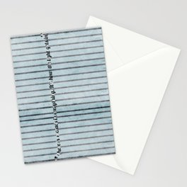 Where the light emerges Stationery Cards