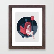 Ghost series 01 Framed Art Print