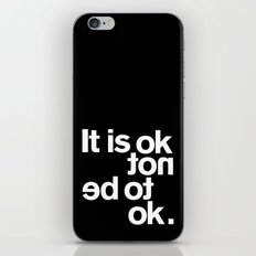 IT IS OK iPhone & iPod Skin