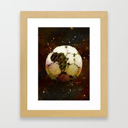Africa Football Framed Art Print