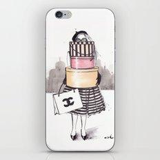 Shopping Junkie iPhone & iPod Skin