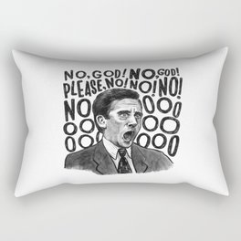 Michael   Office Rectangular Pillow