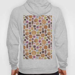 Selection of Sweets, Candy, Cakes and Biscuits Hoody