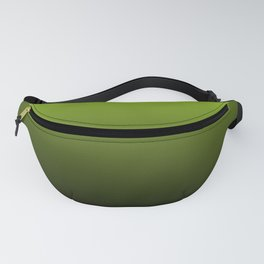 Ombre | Lime Green and Charcoal Grey Fanny Pack