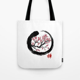 Japanese ENSO ZEN Buddhist SHIRT Tote Bag