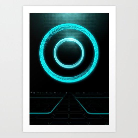 Master Control Program (MCP) Art Print