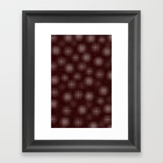 Christmas Chocolates Framed Art Print