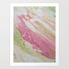 pastel skin Art Print