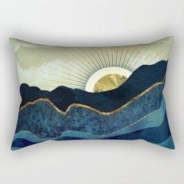 Post Eclipse Rectangular Pillow