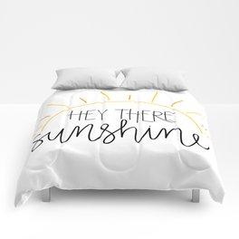 Hey There Sunshine Comforters