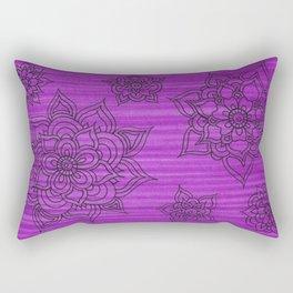 Flowerz Rectangular Pillow
