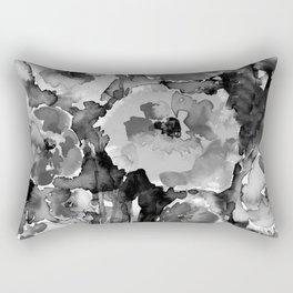 Floral Enchantment No.17D by Kathy Morton Stanion Rectangular Pillow