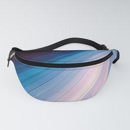 Elegant Blue Ray of Light Fanny Pack