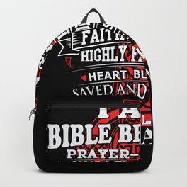 christian girl Backpack