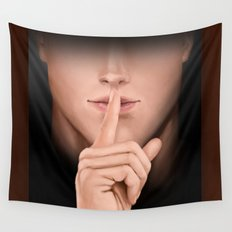 can you keep a secret? Wall Tapestry