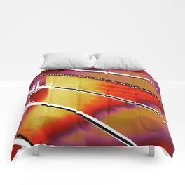Zig Zag blanc Comforters