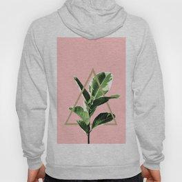 Ficus Elastica Geo Finesse #1 #tropical #foliage #decor #art #society6 Hoody