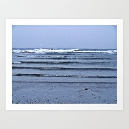 Stairway to the Sea Art Print