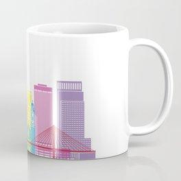 Omaha skyline pop Coffee Mug