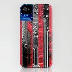 circuit board USA. iPhone (4, 4s) Slim Case