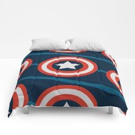 Shield, yield. Comforters
