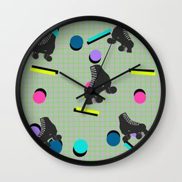 SkateLand Wall Clock
