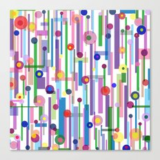 Plink (see also Plink Cherry and Plink Purple) Canvas Print