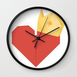 Owner of your heart Wall Clock