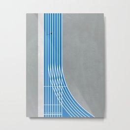 Finish Line Sprinter  Metal Print