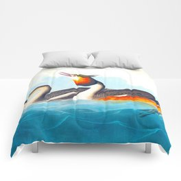 Great Crested Grebe Bird Comforters